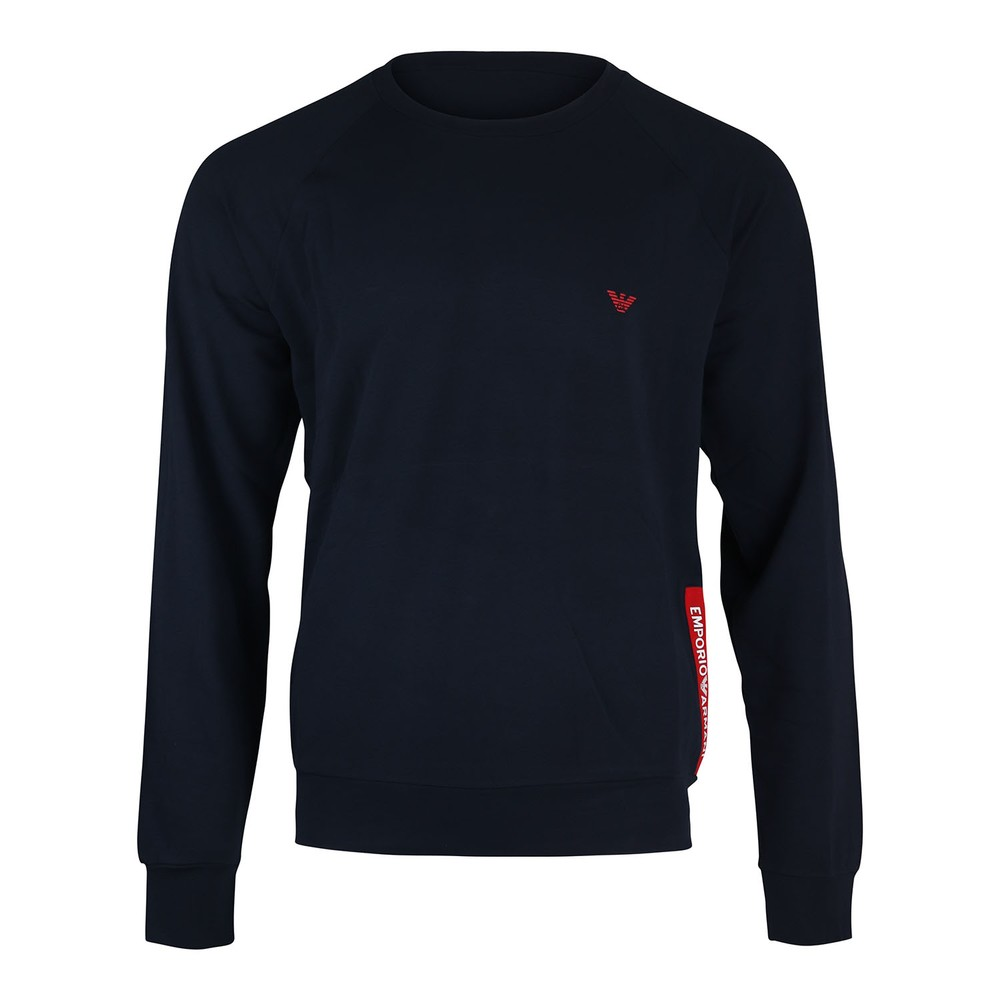 Emporio Armani Crew Neck Sweater w/Joggers Navy