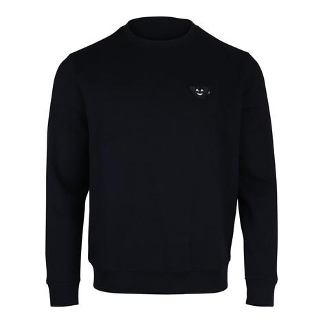 Emporio Armani Crew Neck Sweatshirt w/Velcro Badge