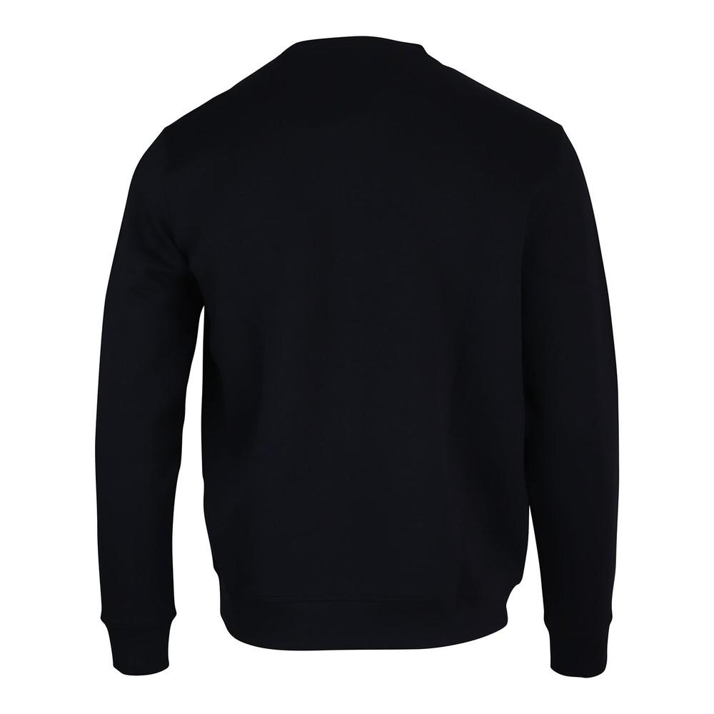 Emporio Armani Crew Neck Sweatshirt w/Velcro Badge Navy