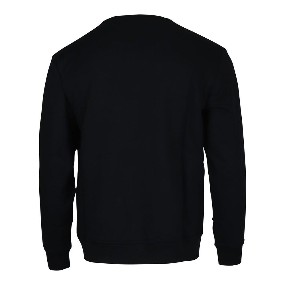 Emporio Armani Crew Neck Logo Sweatshirt Navy