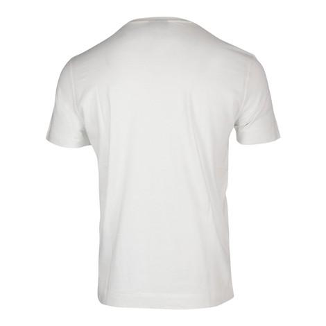Emporio Armani Eagle Graphic Crew Neck T-Shirt