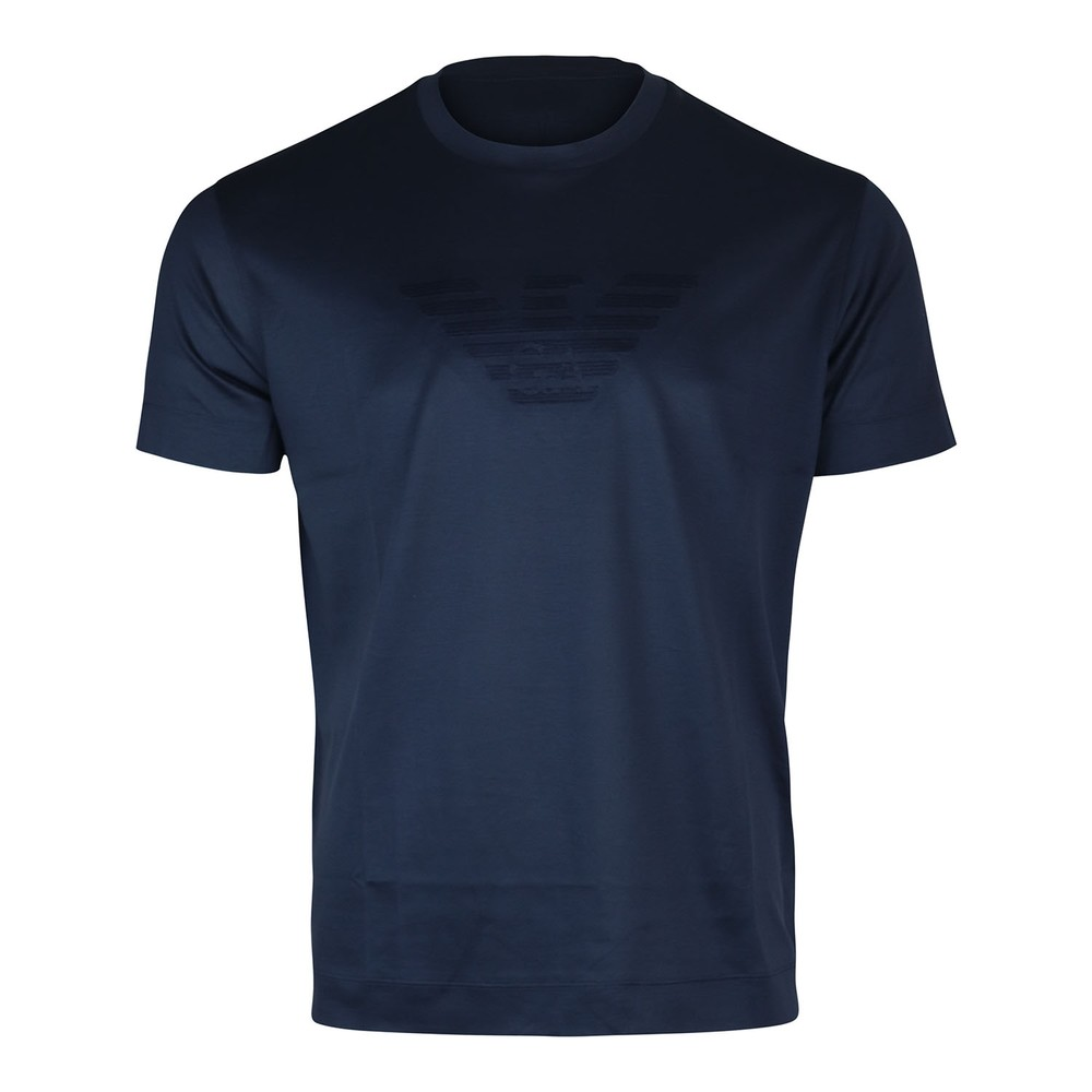 Emporio Armani Eagle Crew Neck T-Shirt Navy
