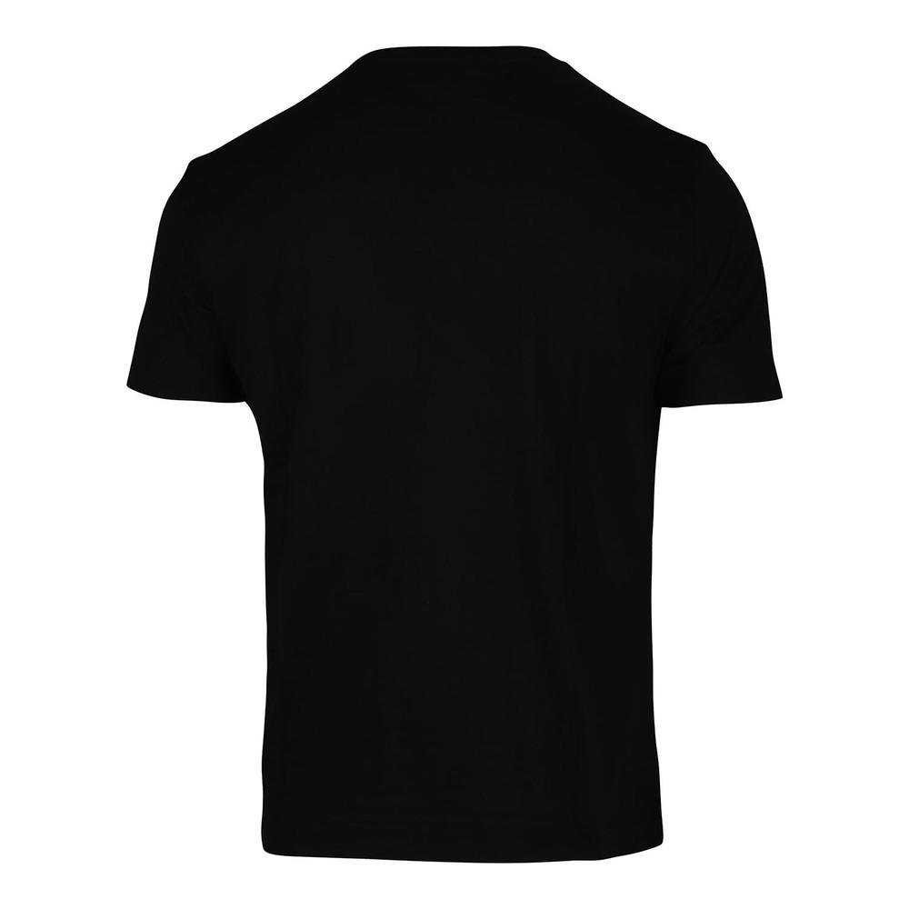 Emporio Armani Embossed Eagle Crew Neck T-Shirt Black