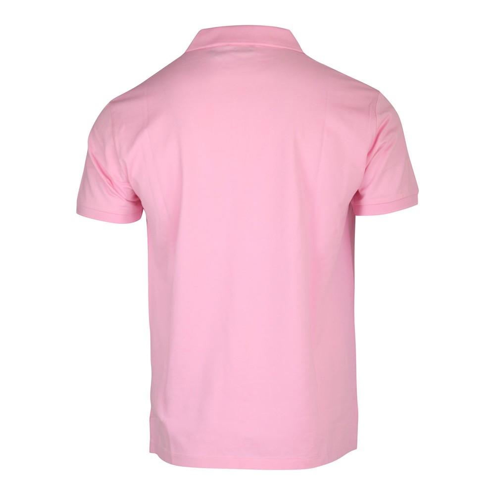 Ralph Lauren Menswear Stretch Mesh SS Polo Shirt Pink
