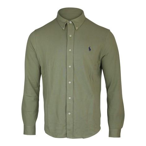 Ralph Lauren Menswear Button Down Mesh Shirt