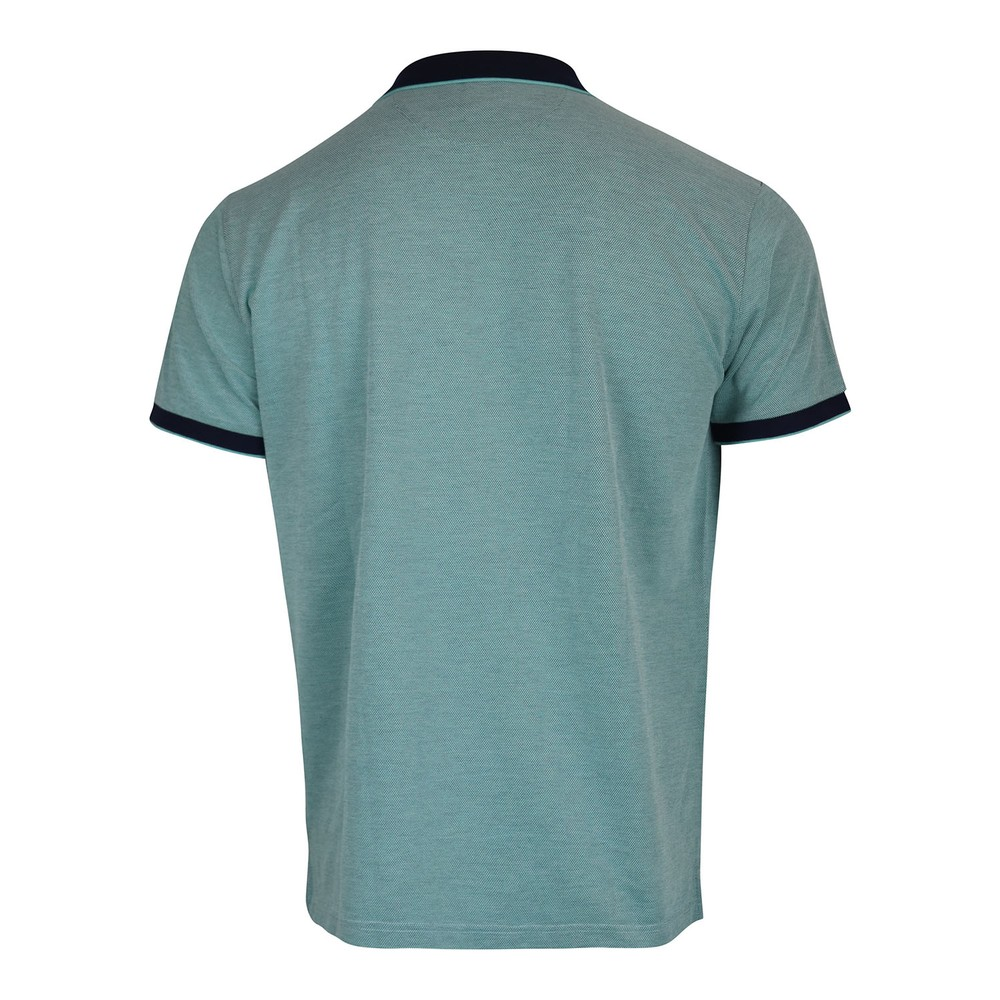 GANT D2. 4-Col Oxford Pique SS Rugger Polo Shirt Green