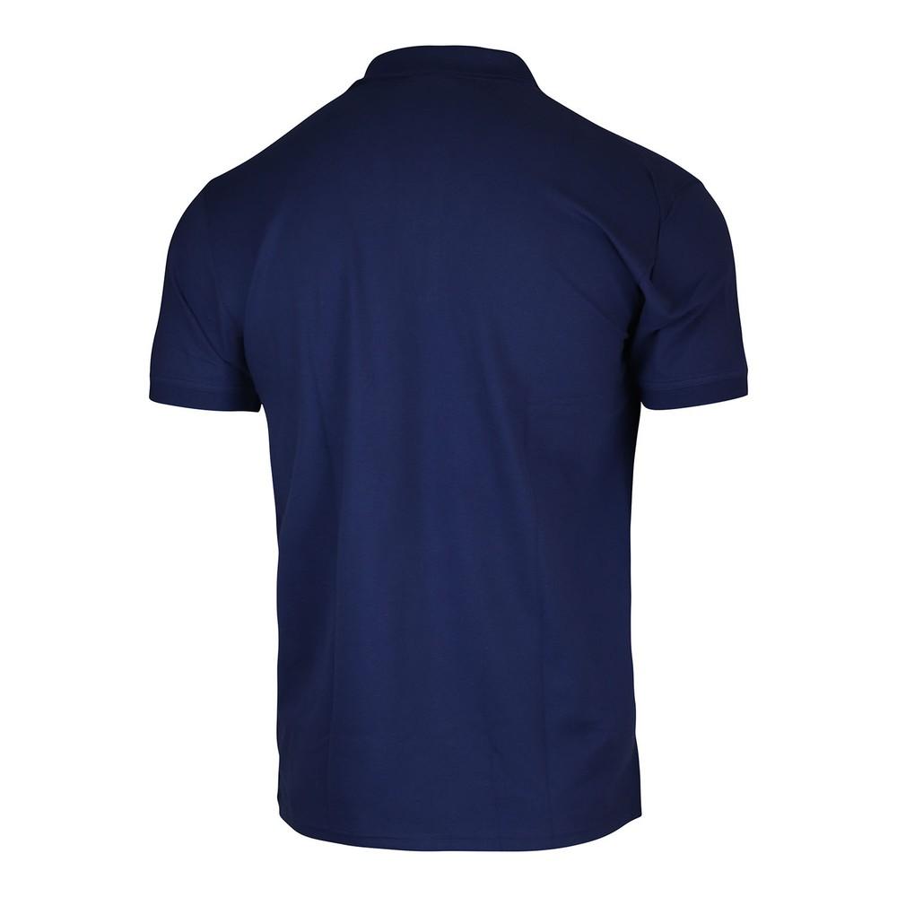 GANT Contrast Collar Pique SS Rugger Polo Blue