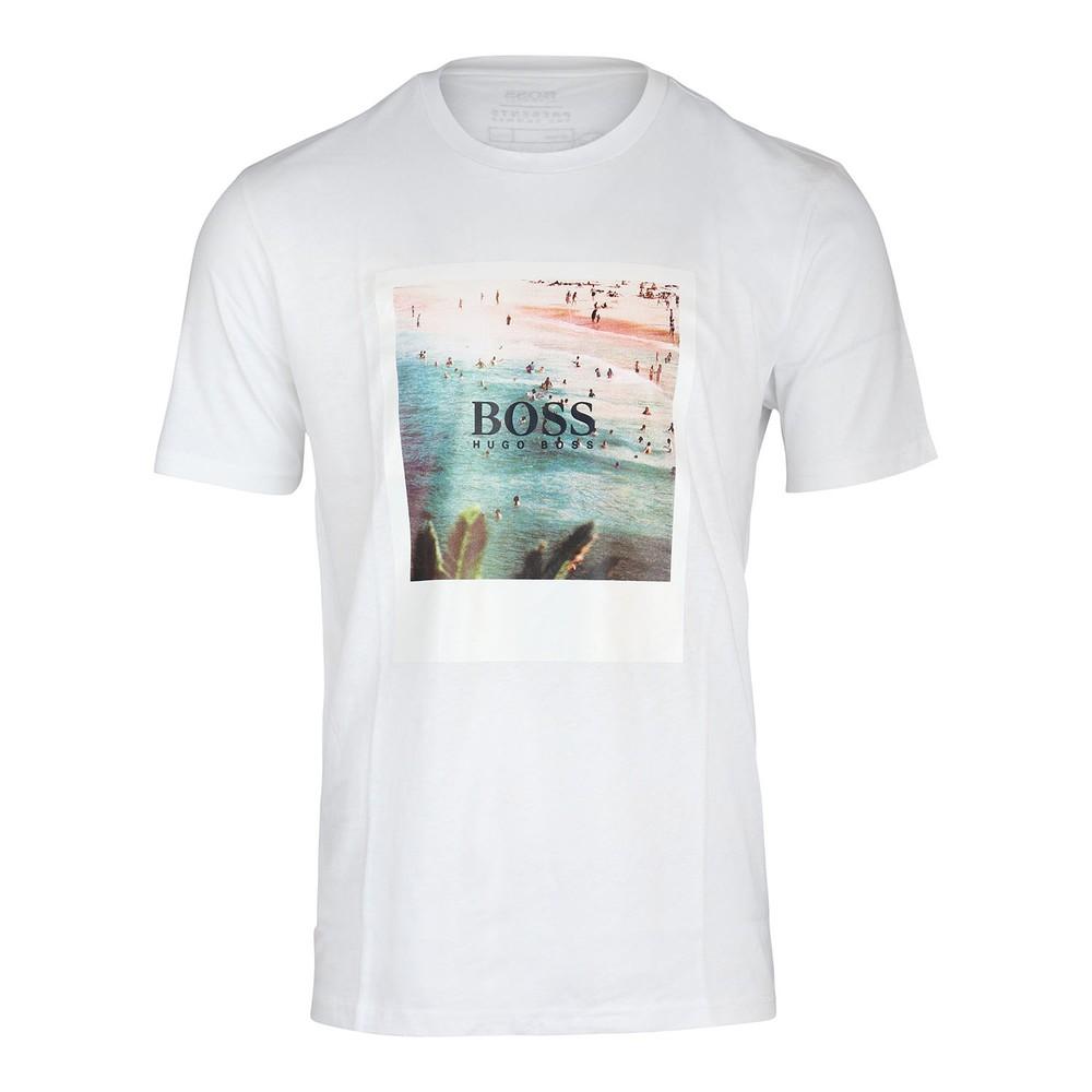 Hugo Boss TSummer4 Graphic T-Shirt White