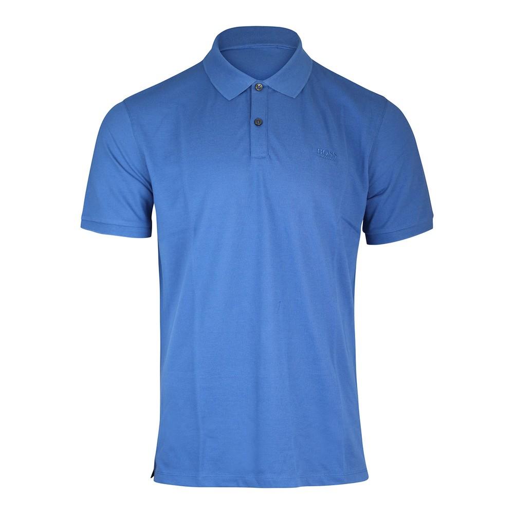 Hugo Boss Pallas Polo Shirt Mid Blue