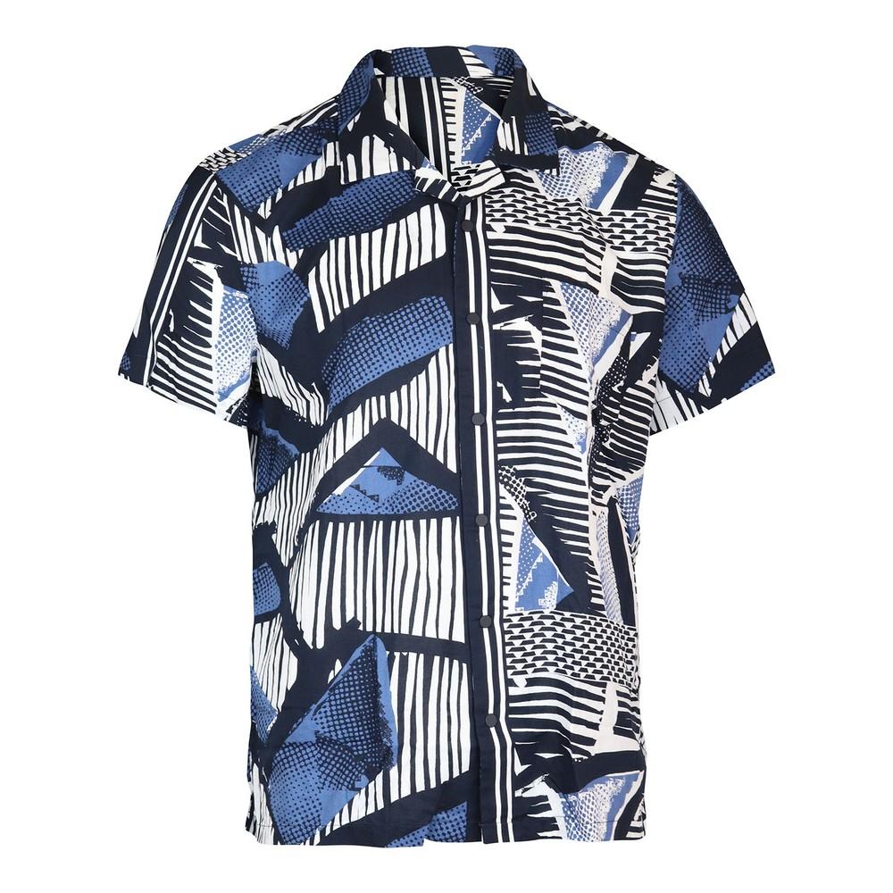 Hugo Boss Rhythm Shirt Dark Blue