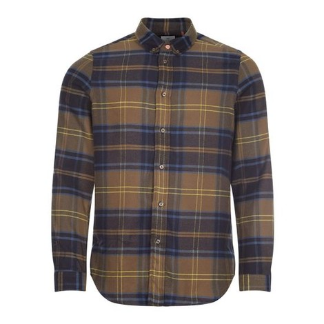 PS Paul Smith Men's LS Tailored Fit Check Shirt