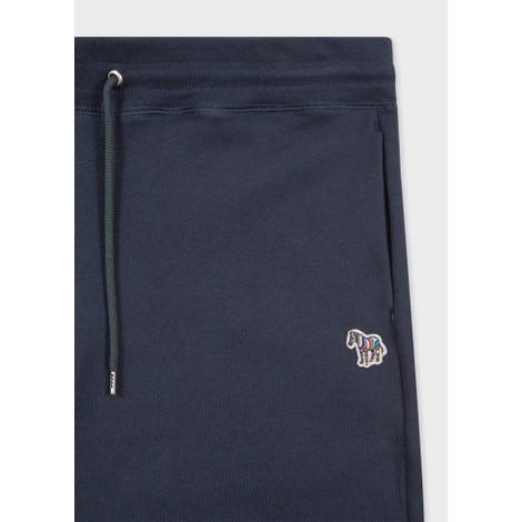 PS Paul Smith Men's Reg Fit Zebra Logo Cotton Sweatpants