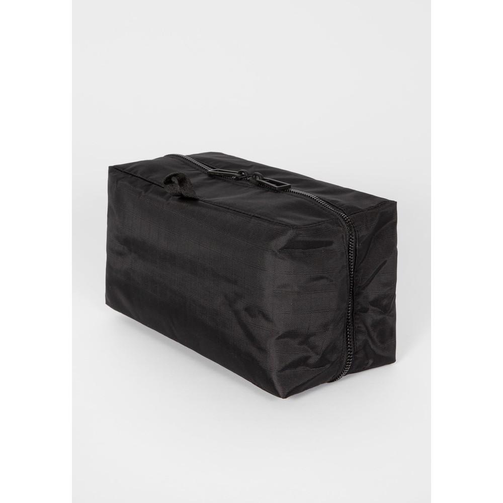 PS Paul Smith Men's Zebra Logo Fold Out Wash Bag Black