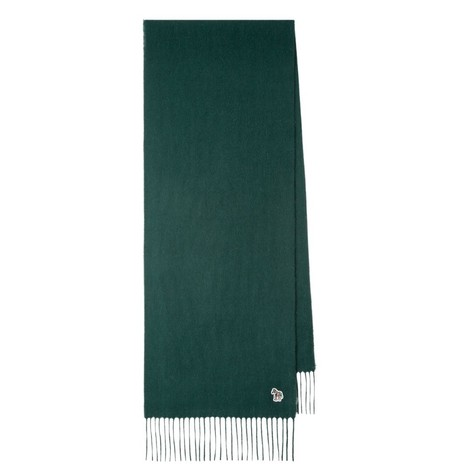 PS Paul Smith Embroidered Lambswool Scarf