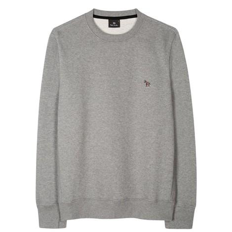 PS Paul Smith Organic-Cotton Zebra Logo Sweatshirt