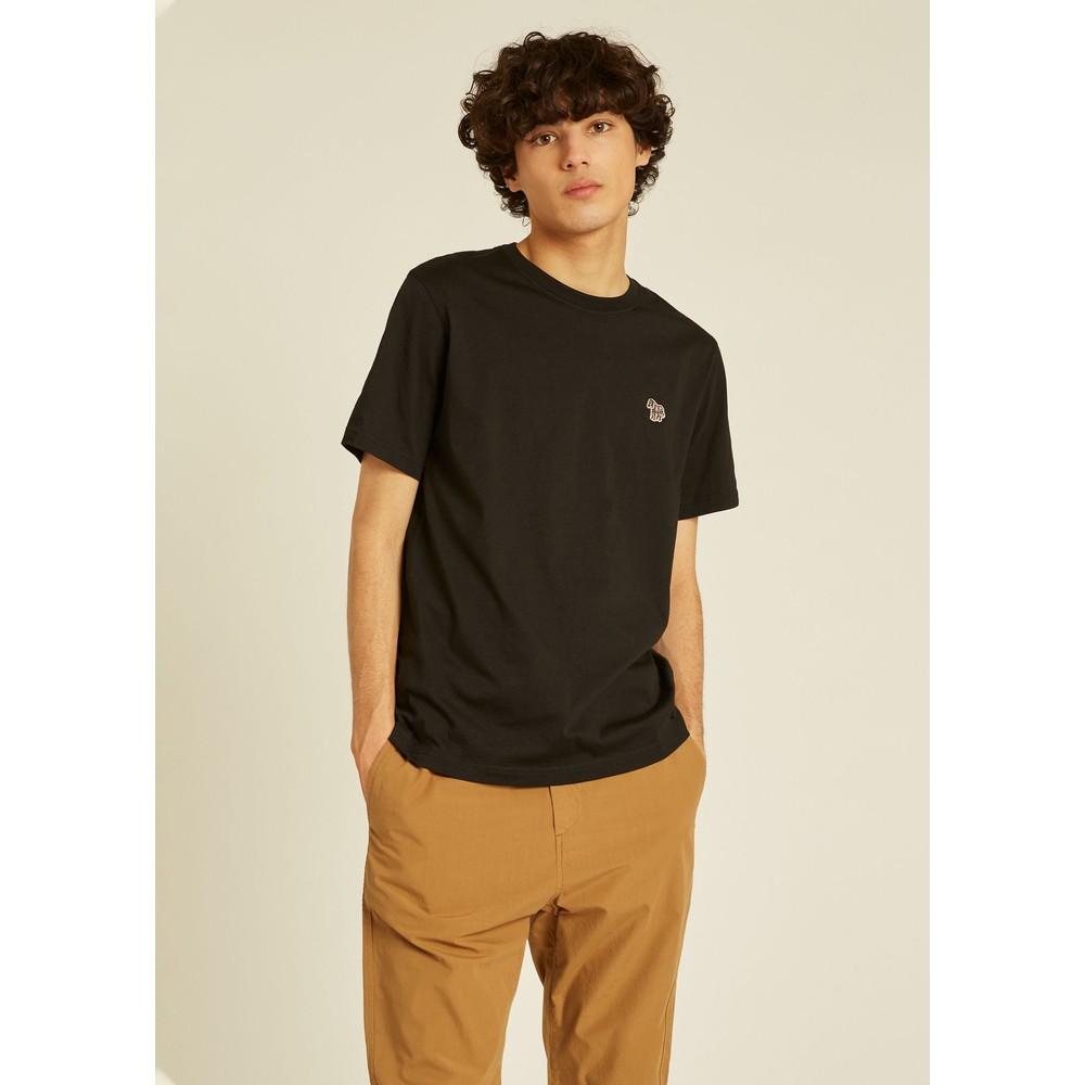PS Paul Smith Zebra Logo Reg Fit SS T-Shirt Black