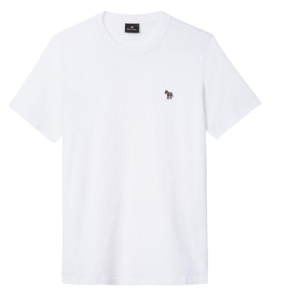 PS Paul Smith Zebra Logo Reg Fit SS T-Shirt White