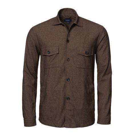 Eton Cotton Wool Cashmere Overshirt