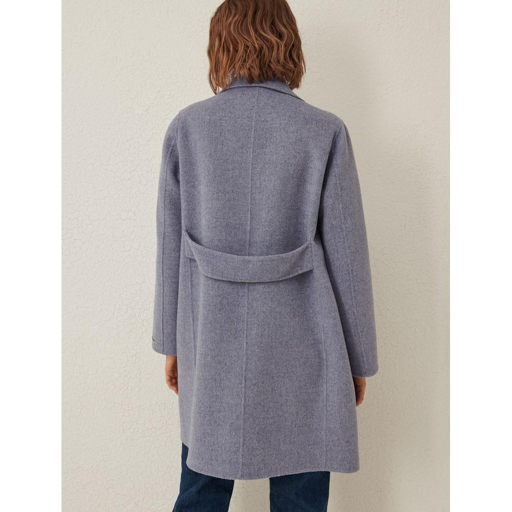 Marella Merce Wool Coat Powder Blue