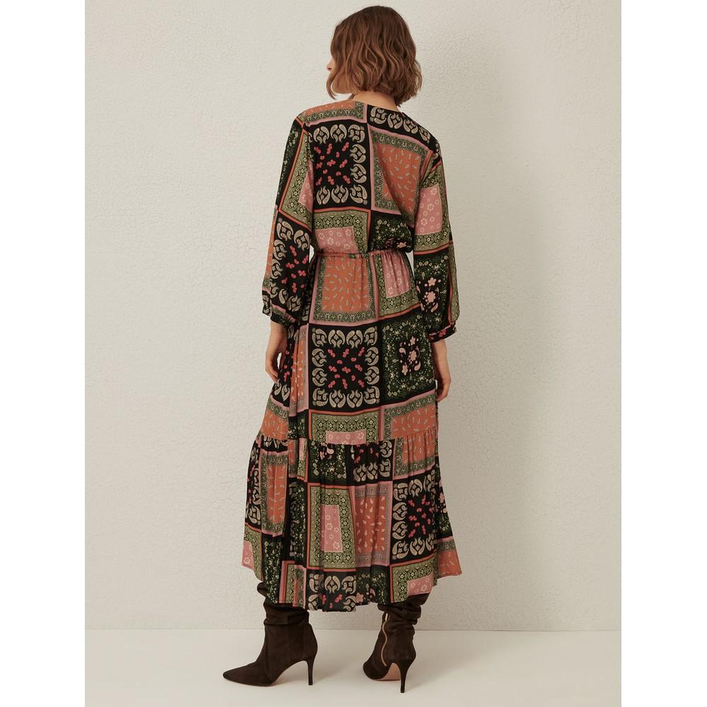 Marella Scozia Crepe Dress Multicoloured