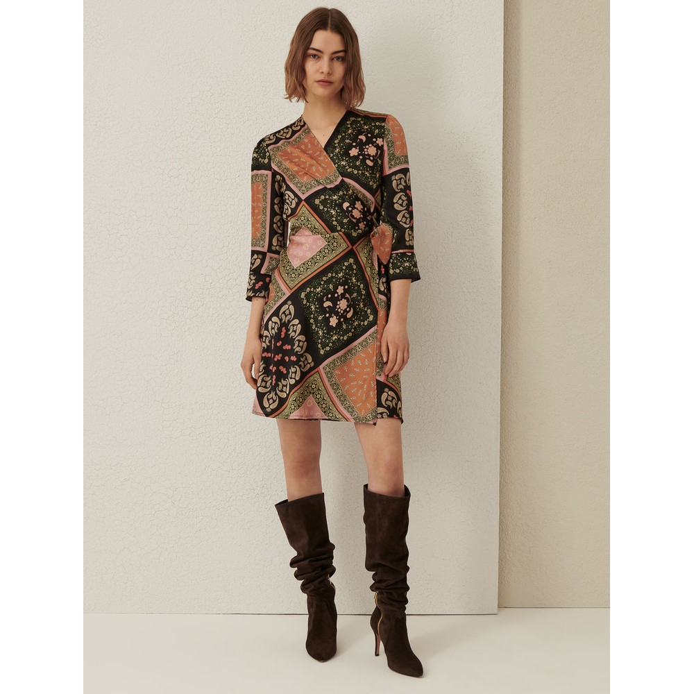 Marella Riarso Wrap Dress Multicoloured