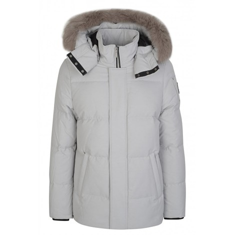 Moose Knuckles Richardson Jacket in White