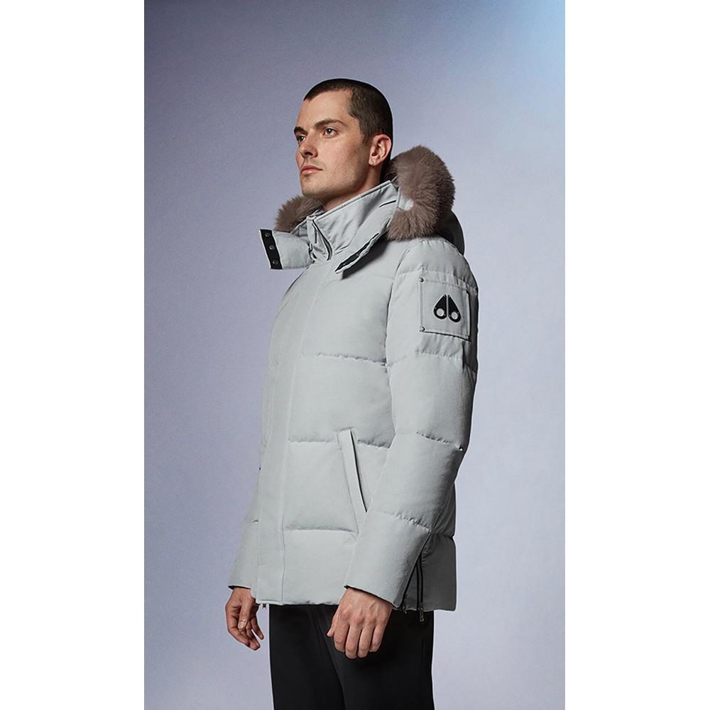 Moose Knuckles Richardson Jacket White