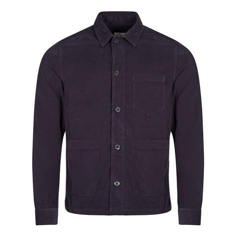 PS Paul Smith Linen-Blend Chore Overshirt