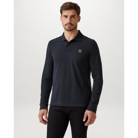Belstaff Essential Long Sleeve Polo Shirt
