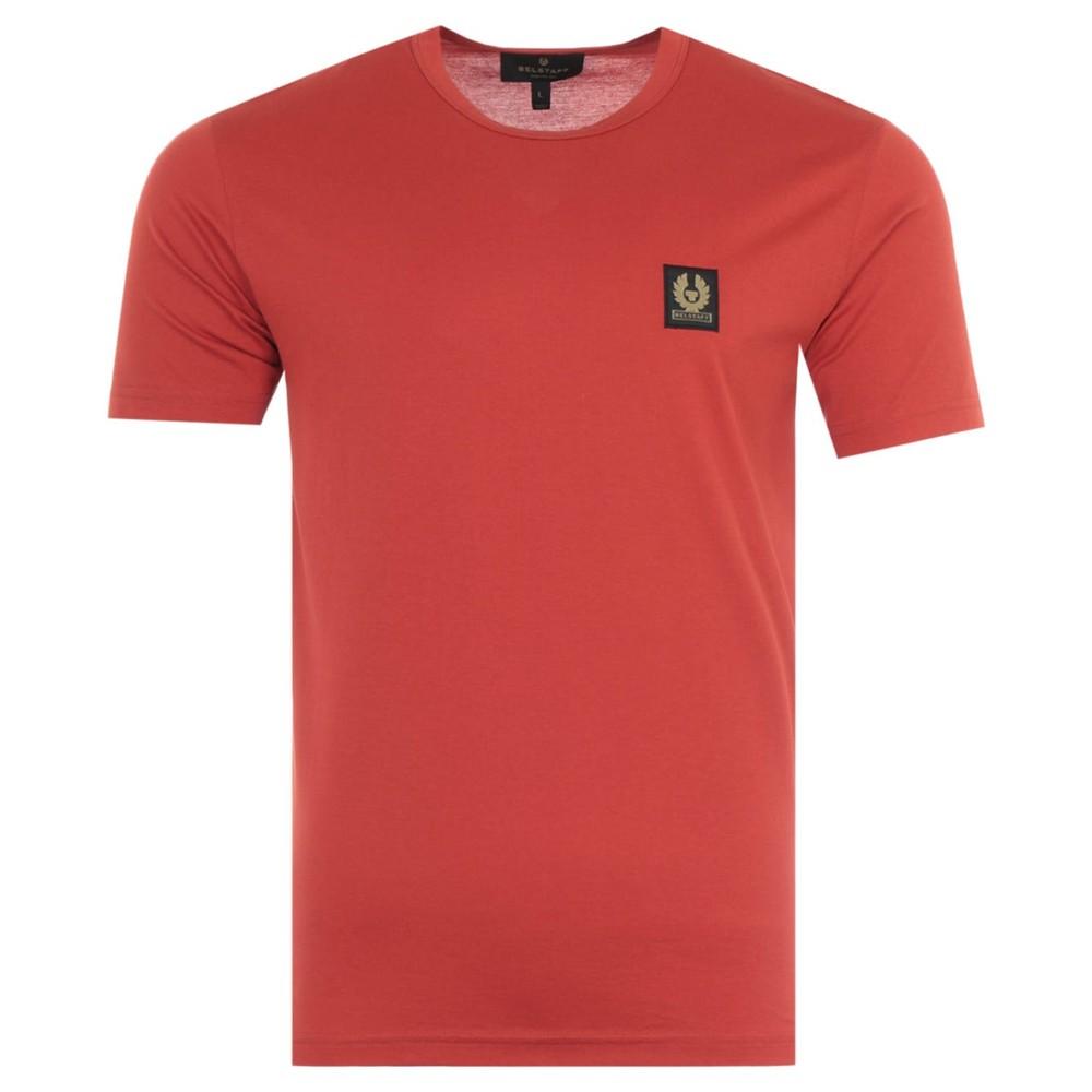 Belstaff Logo T-Shirt Red