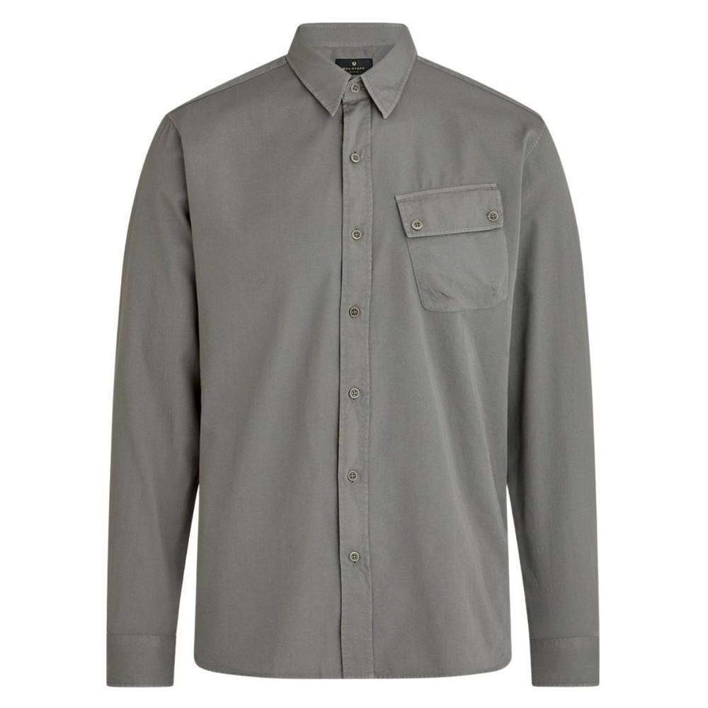 Belstaff Pitch Twill Shirt Granite