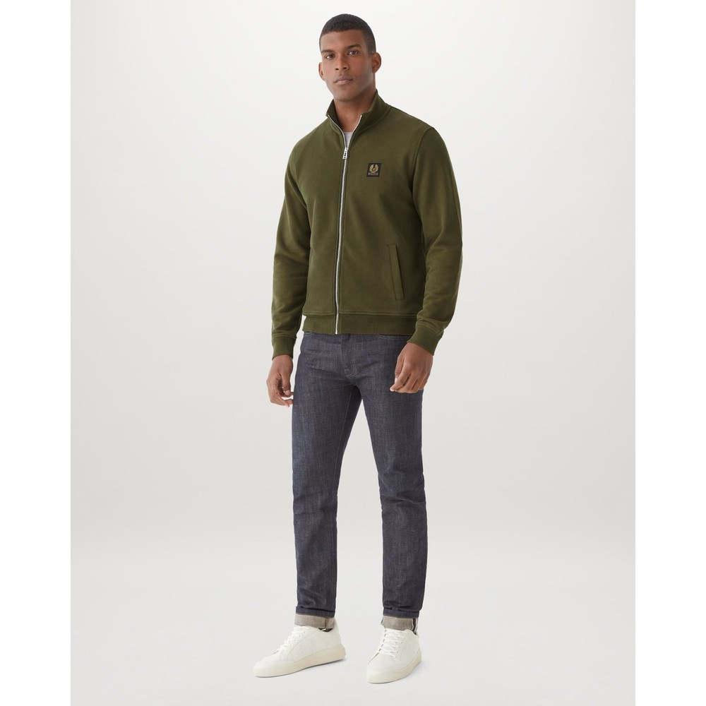Belstaff Zip Through Green