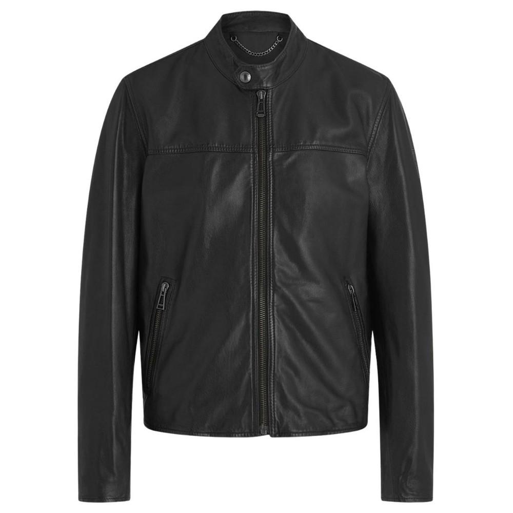 Belstaff Pelham Leather Jacket Black