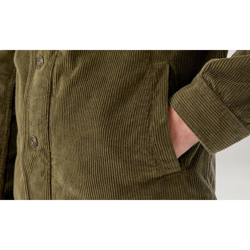 Belstaff Rake Corduroy Jacket Green