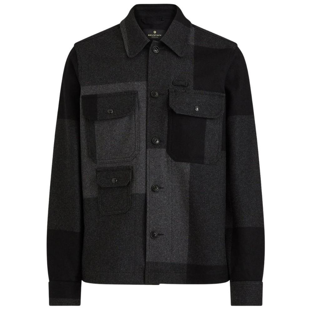 Belstaff Forge Overshirt Charcoal