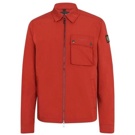 Belstaff Wayfare Overshirt Jacket in Red