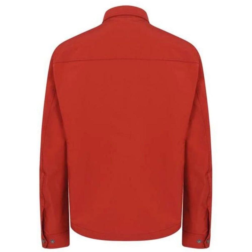Belstaff Wayfare Overshirt Jacket Red