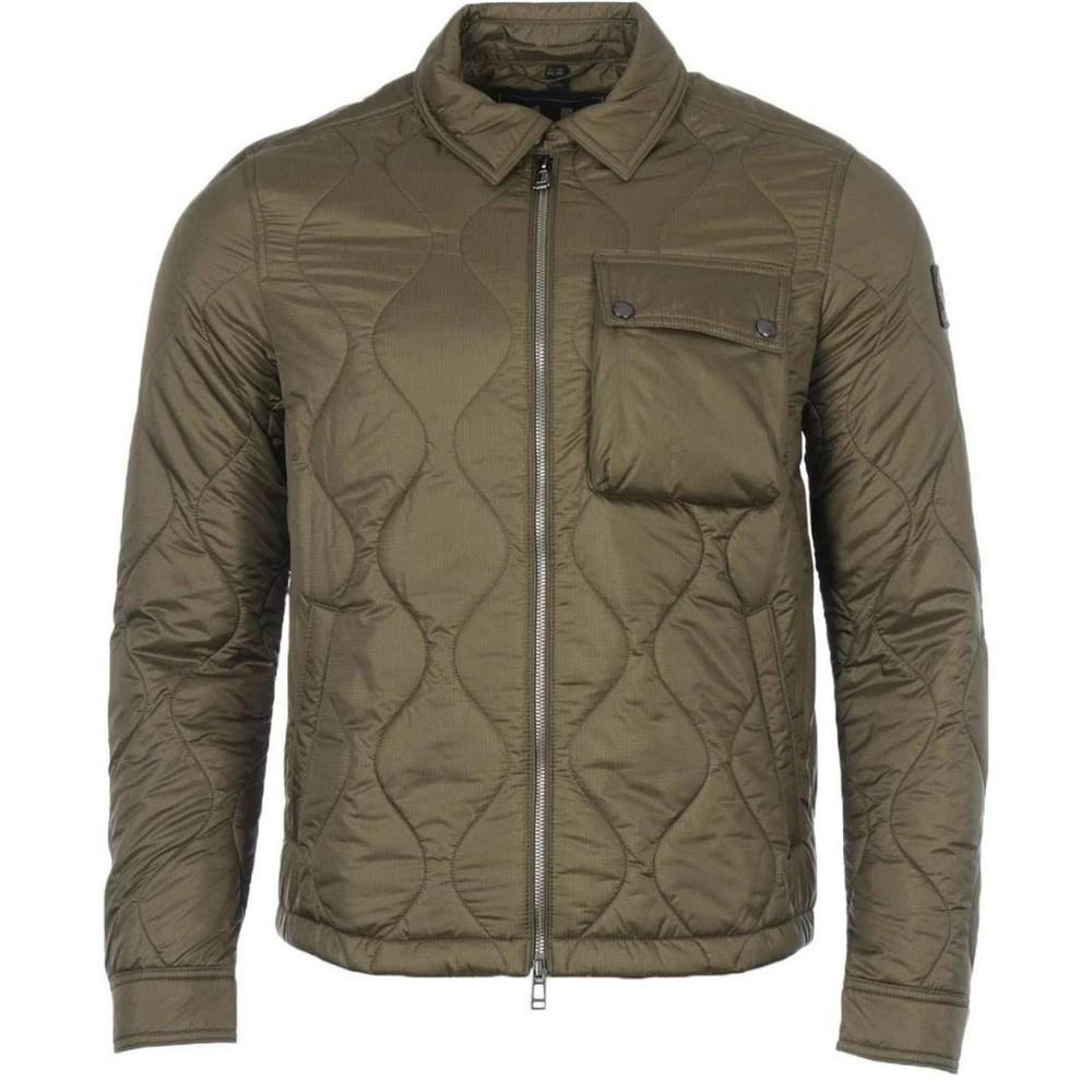 Belstaff Wayfare Quilt Jacket Green
