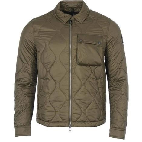 Belstaff Wayfare Quilt Jacket in Green