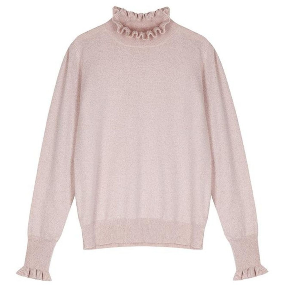 Cocoa Cashmere Carrie Cashmere Jumper Pale Pink