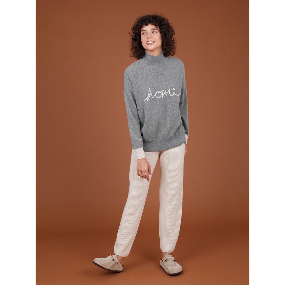 Cocoa Cashmere Home Cashmere Jumper Grey