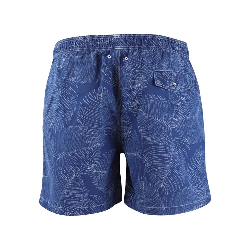 Hackett Palm Swim Short Blue