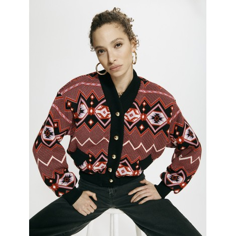 Hayley Menzies Chepstow Cotton Merino Bomber Jacket