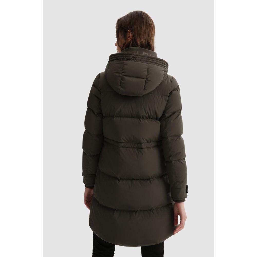 Woolrich Womenswear Alsea Down Jacket Dark Green