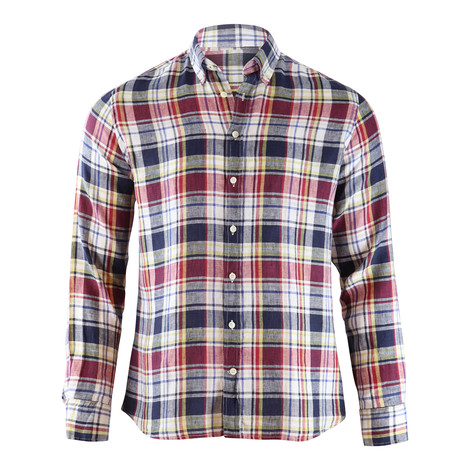 Hackett Brompton Multi Madras Check Shirt