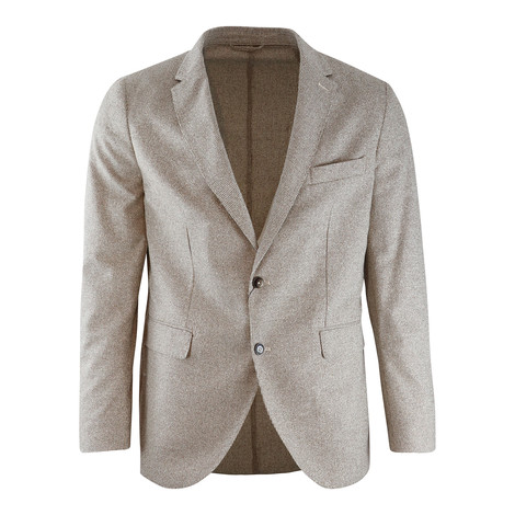Hackett Mouline Puppy Tooth Unlined Blazer