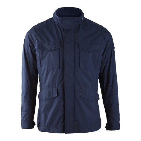 Hackett Jersey Lined Field Jacket