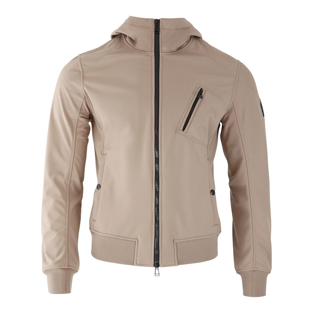 Belstaff Rockford Hooded Jacket Beige