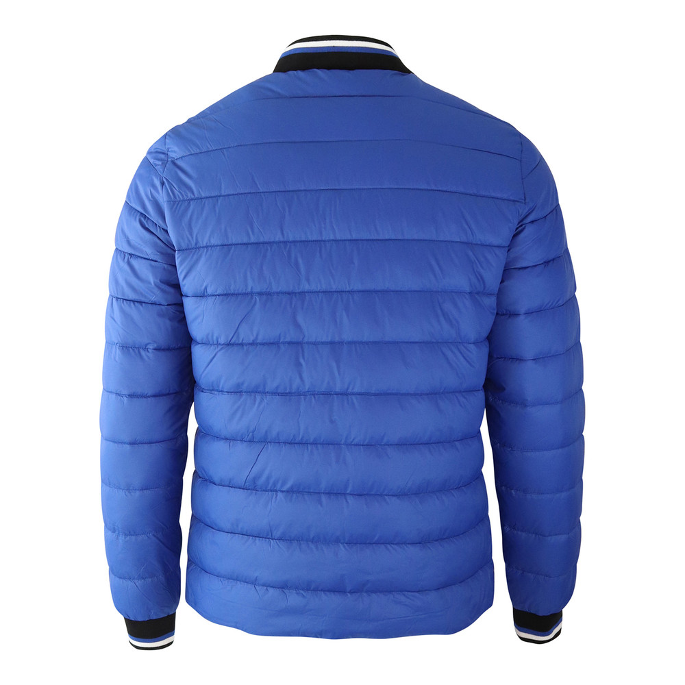 Moose Knuckles Beaugrand Quilted Jacket Blue