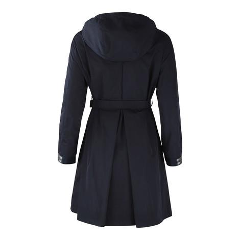 Maxmara Studio Hooded Reversible Showerproof Jacket